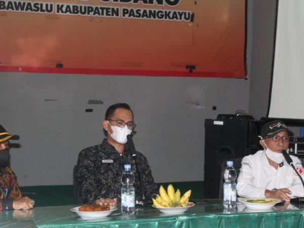 Kunjungi Pasangkayu, Awaluddin Serukan Good Governance Hingga Koordinasi Dengan Stakeholder