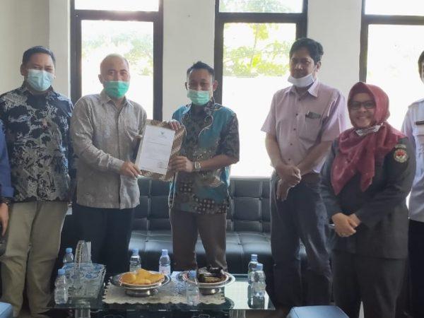 Upaya Peningkatan Keterbukaan Informasi Publik, Bawaslu Sulbar Berkoordinasi Ke Komisi Informasi Provinsi Sulbar