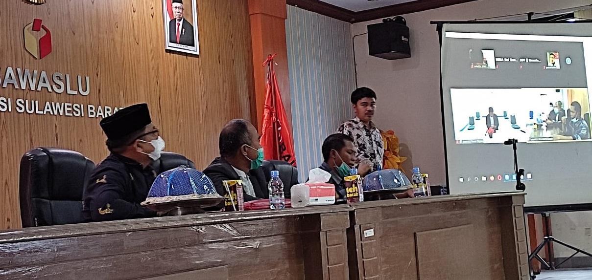Evaluasi Efektivitas Sengketa Proses, Bawaslu Sulbar Gelar Rapat Koordinasi