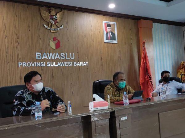 Maksimalkan Pelaksanaan SKPP Tahun 2021, Bawaslu Sulbar Gelar Training of Trainer Bagi Calon Fasilitator