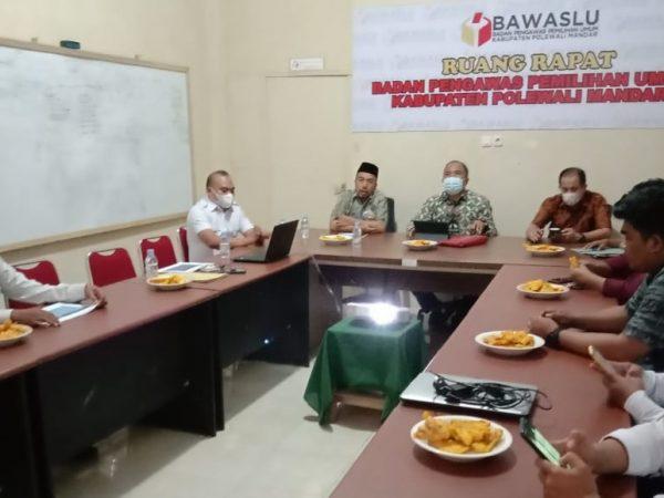 Kunjungi Bawaslu Polman, Sulfan Evaluasi dan Pastikan Kesiapan Pengawas Terhadap Proses Penyelesaian Sengketa